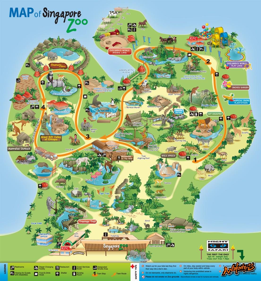 Singapore zoo map google gumiabroncs Gallery