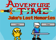 Adventure Time Jake's Lost Memories 8bit