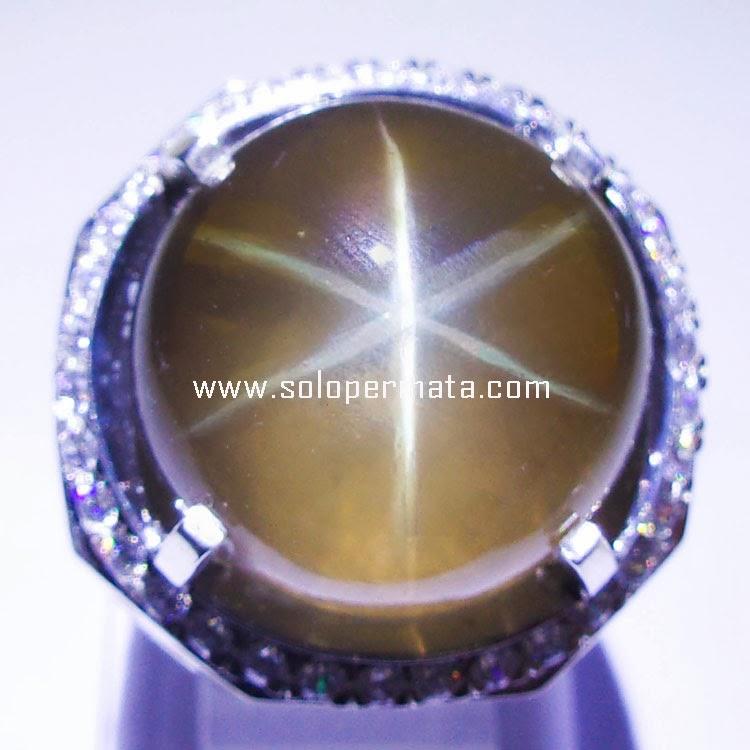 Batu Permata Quartz Star