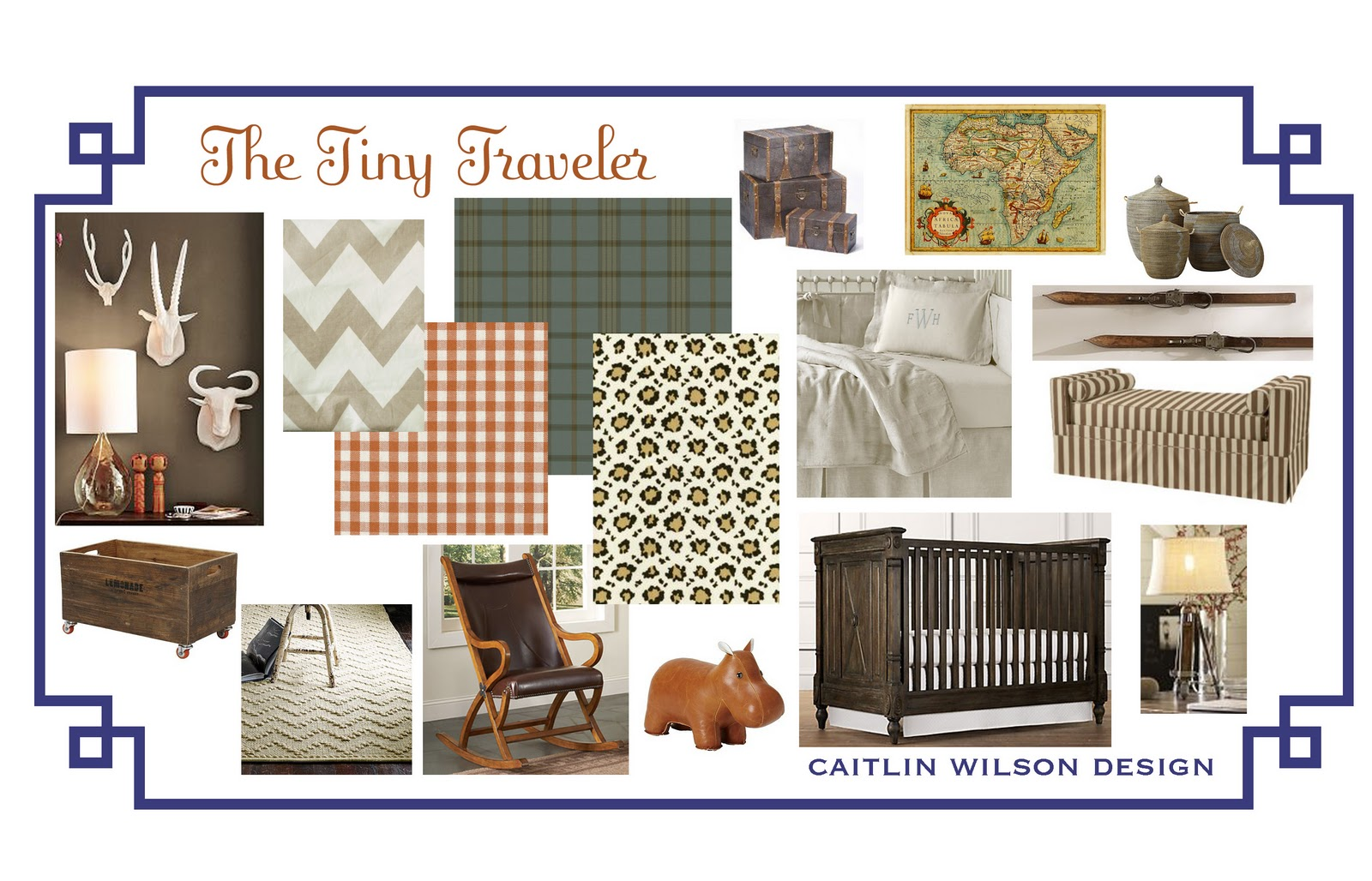 Chic Little Mountain Man Nursery by Jill Sorensen: title=