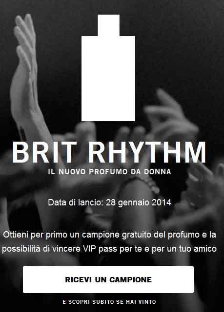 profumo Brit Rhythm Donna