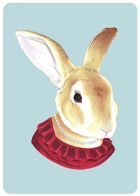 Berkley Illustration's lady rabbit