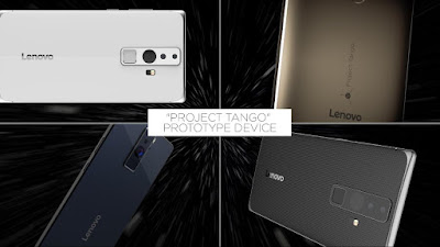 Lenovo dan Google Umumkan Kemitraan untuk Smartphone Tango