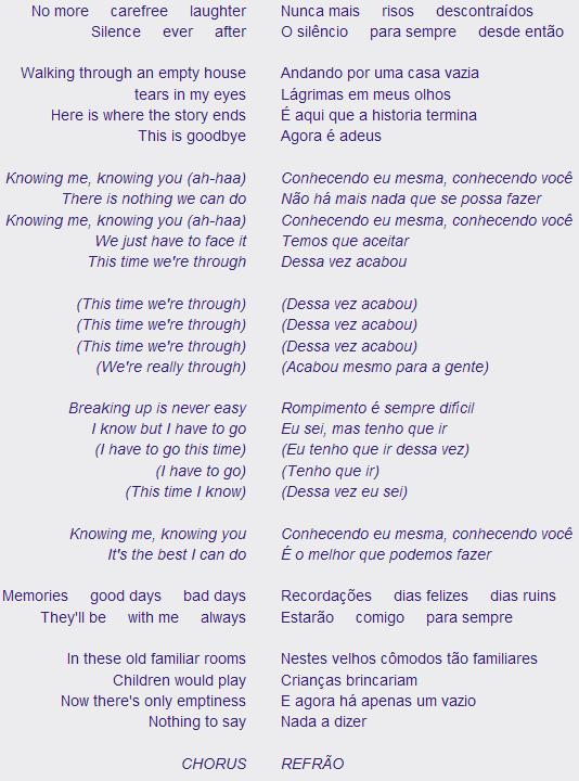letra musica internacionais: