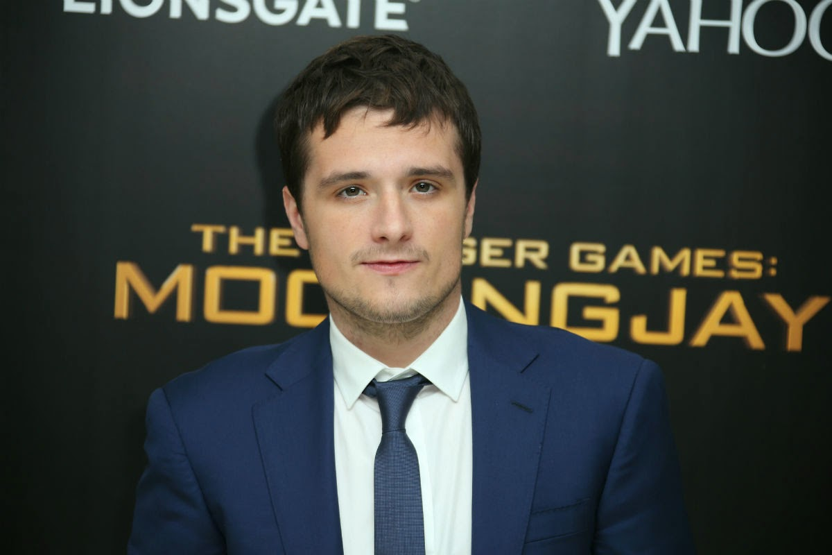 josh hutcherson hunger games mockingjay