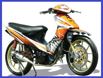 Modifikasi+Suzuki+Shogun+110_Racing+Costum+Tribal-Otomodif+Modifikasi