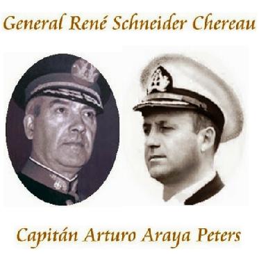 LOS CRIMENES DEL GENERAL SCHNEIDER Y DEL CAPITAN ARAYA