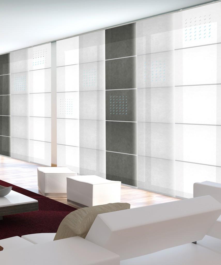Panel japon s papyrus de avanmoda d 39 orte zaragoza - Tela para panel japones ...