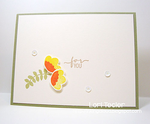For You card-designed by Lori Tecler/Inking Aloud-stamps from Avery Elle
