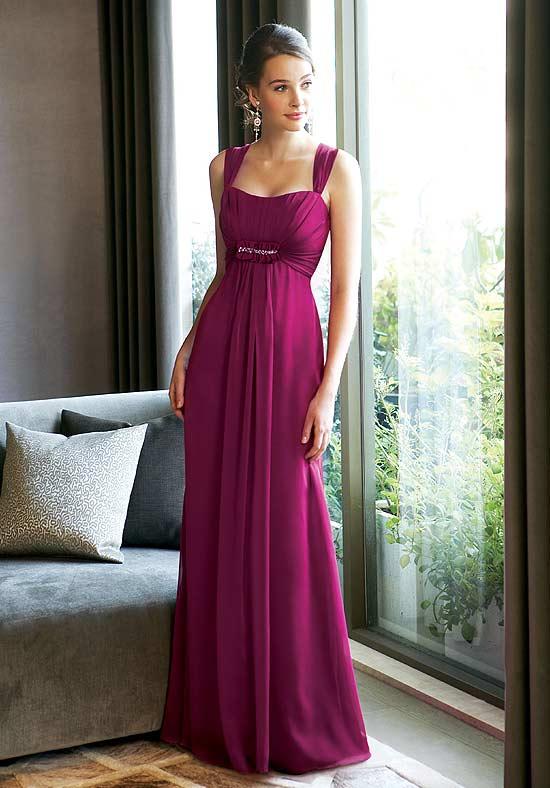 muhlisah: Purple Bridesmaid Sort And Long Dress Models