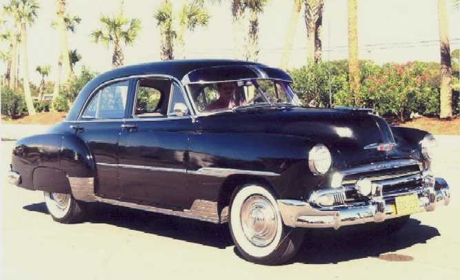 Chevrolet passenger car 1951 wiring diagram all about for 1951 chevy deluxe 4 door for sale
