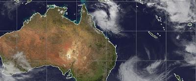 NUEVA TORMENTA TROPICAL SE FORMA CERCA DE LA COSTA DE AUSTRALIA, 14 de Marzo 2013