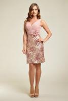 Rochie de ocazie, de culoare roze, marca Dynasty ( )