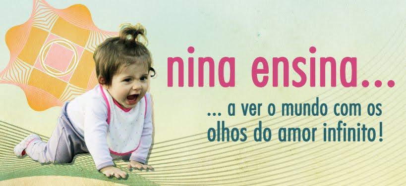 Nina ensina....