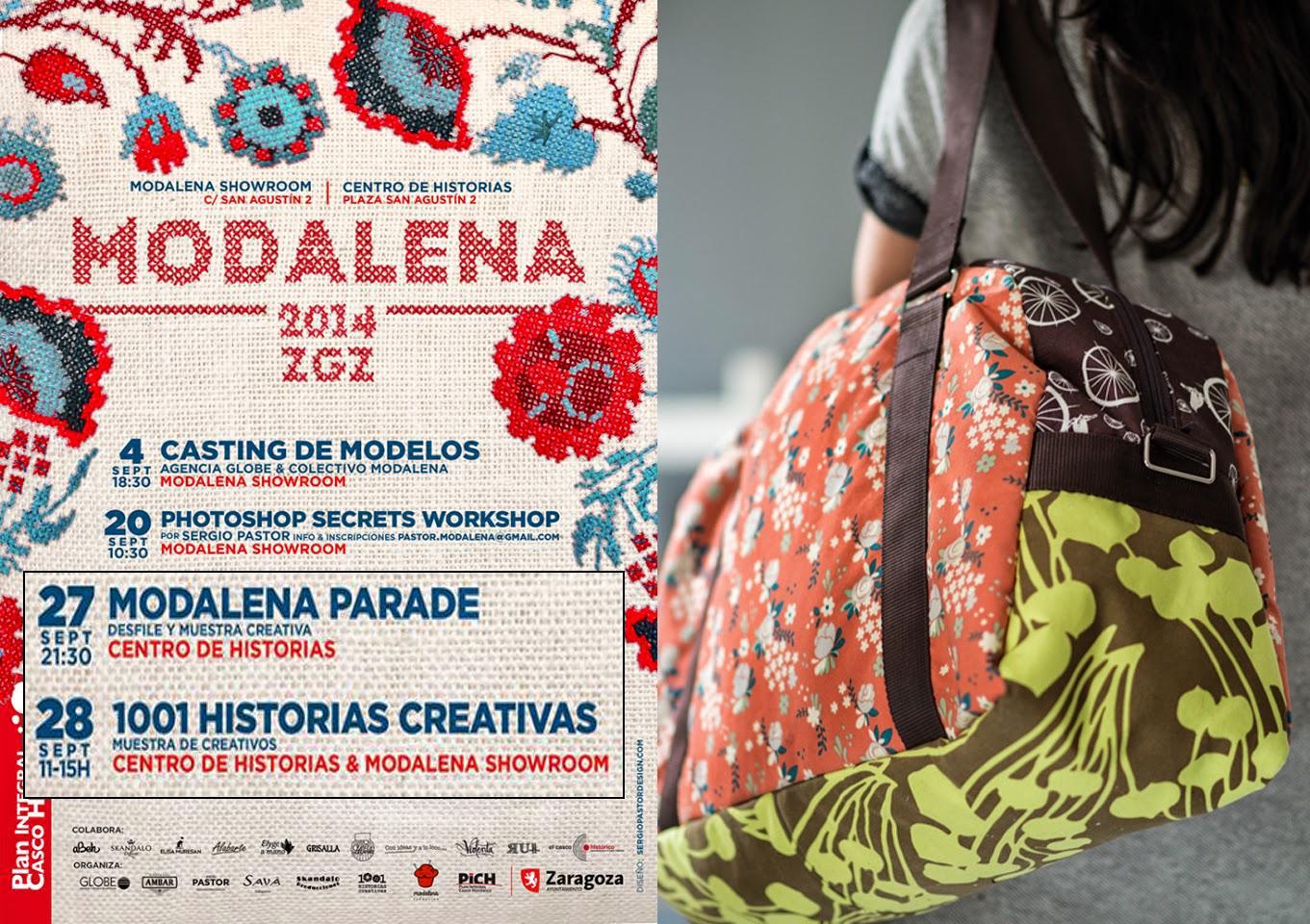 desfile modalena 2014, 1001 historias creativas, algodon ecologico