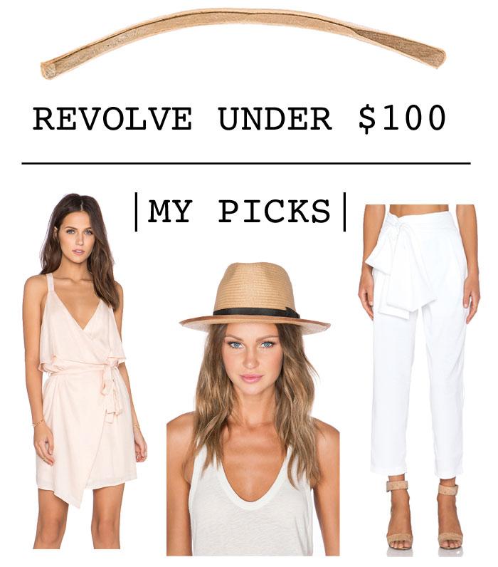 revolve clothing, women's clothing under $100, fashion under $100