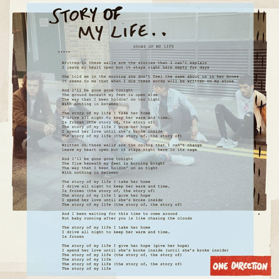 letra de la cancion it s my life:
