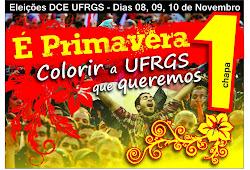 Chapa É primavera! vence eleições para o DCE 2012