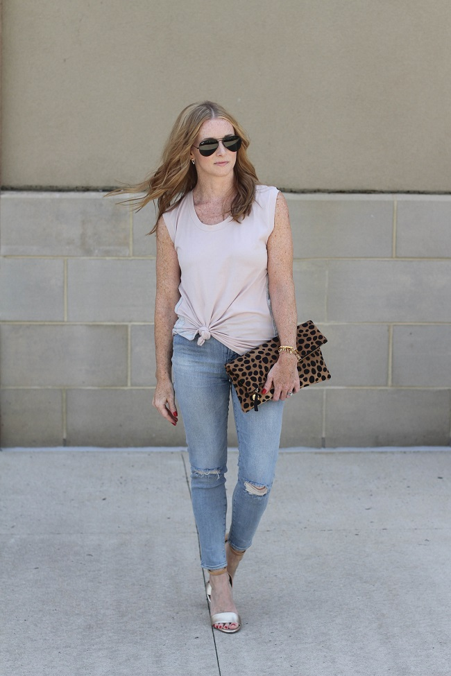 jcrew sleeveless top