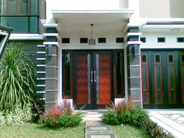 model teras depan rumah minimalis desain rumah minimalis
