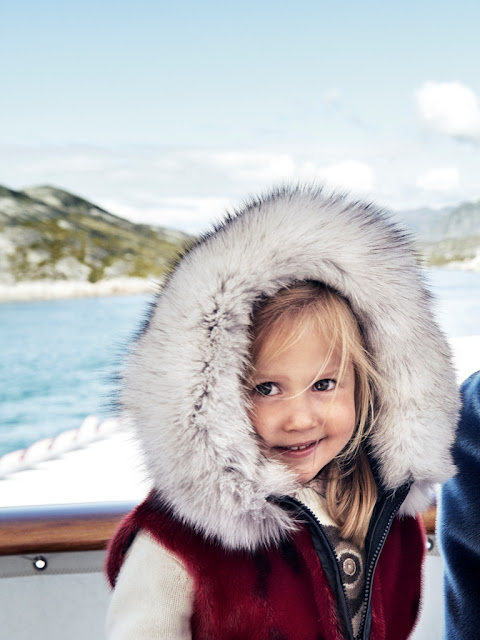 Crown Princely Family's visit to Greenland