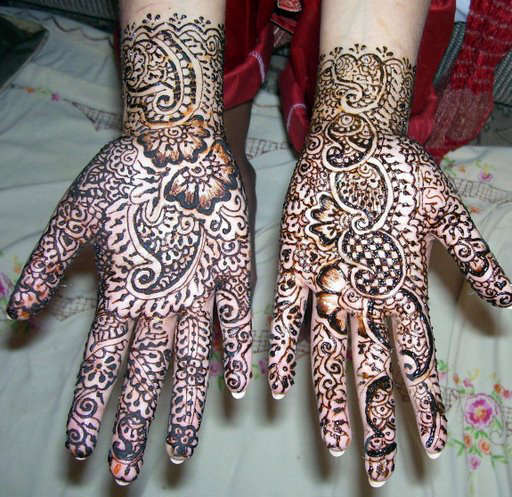 Mehndi Bridal Collection : Top bridal fashion henna designs new collection hottest