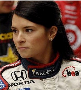 2012 Face Danica Patrick NASCAR 