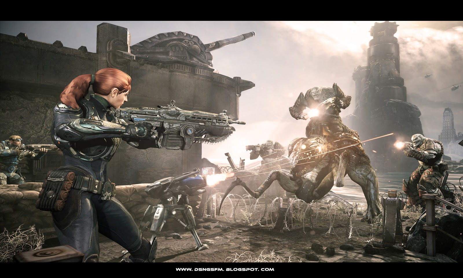 Gears of War HD & Widescreen Wallpaper 0.807355152803473