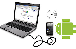 Share PC internet with android mobile via USB (Reverse thetering)