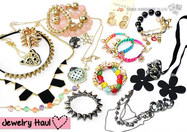 Fashion Jewelry Haul