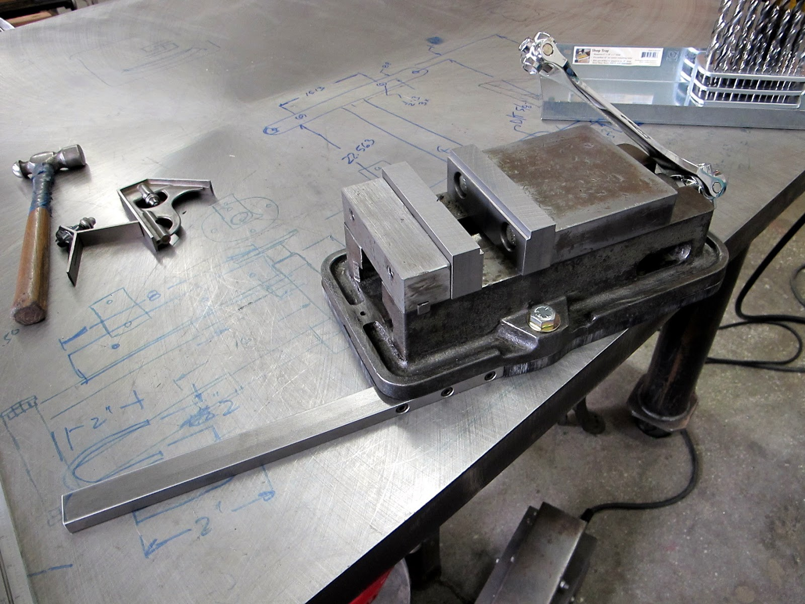 Quot Nothing Too Strong Ever Broke Quot Drill Press Vise Wrap Up