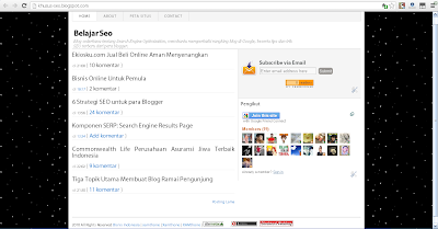 Cara Membuat Background Bergerak di Blog