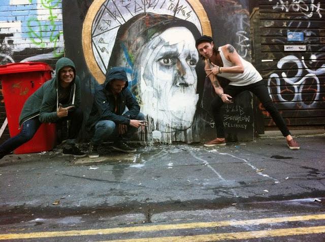 Ben Slow x Jim McElvaney x I-Lib Newest Street Art on the streets of Brighton, UK 2