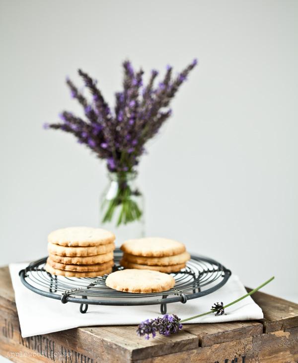 Lavendel Lavendelblüten Kekse Sommer Summerfeeling