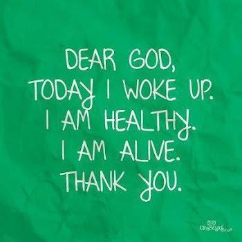 """""""Thank God"""""""