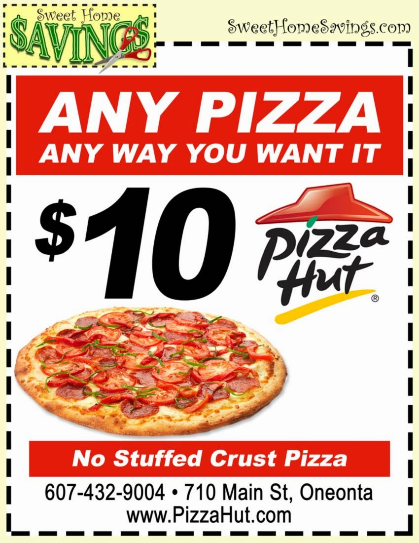 Pizza hut coupon code 2018