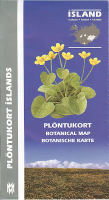 Iceland Plöntukort – Botanical Map