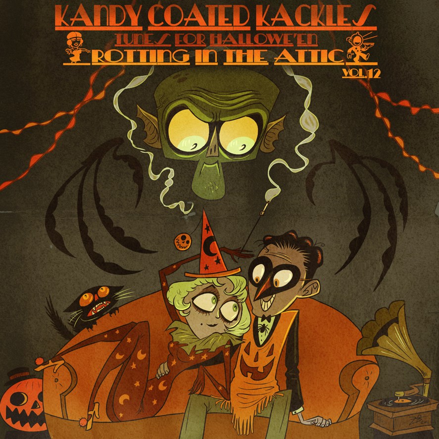 Kandy Coated Kackles: Music for Halloween