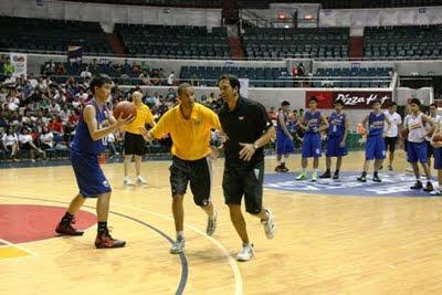Coach Erik Spoelstra took his NBA FIT commitment one notch higher
