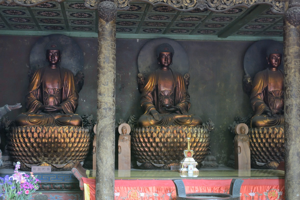Buddha sculptures  at 白马寺 or White Horse Temple or Baimasi