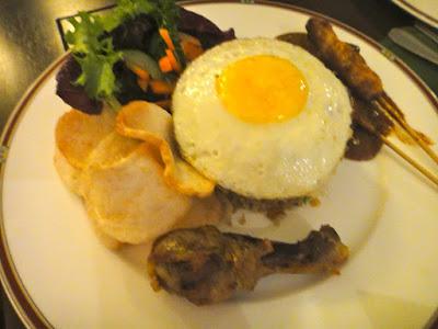 Fried Rice Aston Tanjong Benoa Room Service Bali