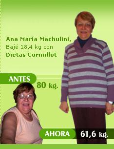 bajar 18 kilos 80 kilos 61 kilos dietaclub antes despues