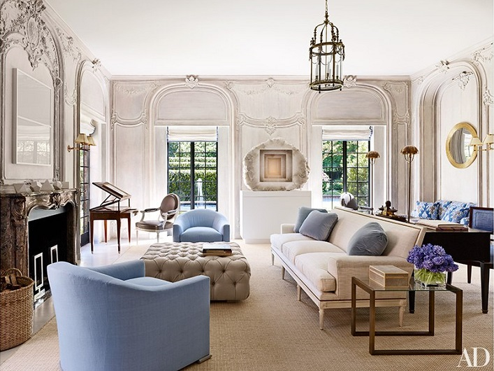 mix and chic home tour a beautiful historic houston mansion with a contemporary ease. Black Bedroom Furniture Sets. Home Design Ideas