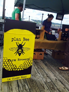 Evan and Emily Watson of Plan Bee Farm Brewery