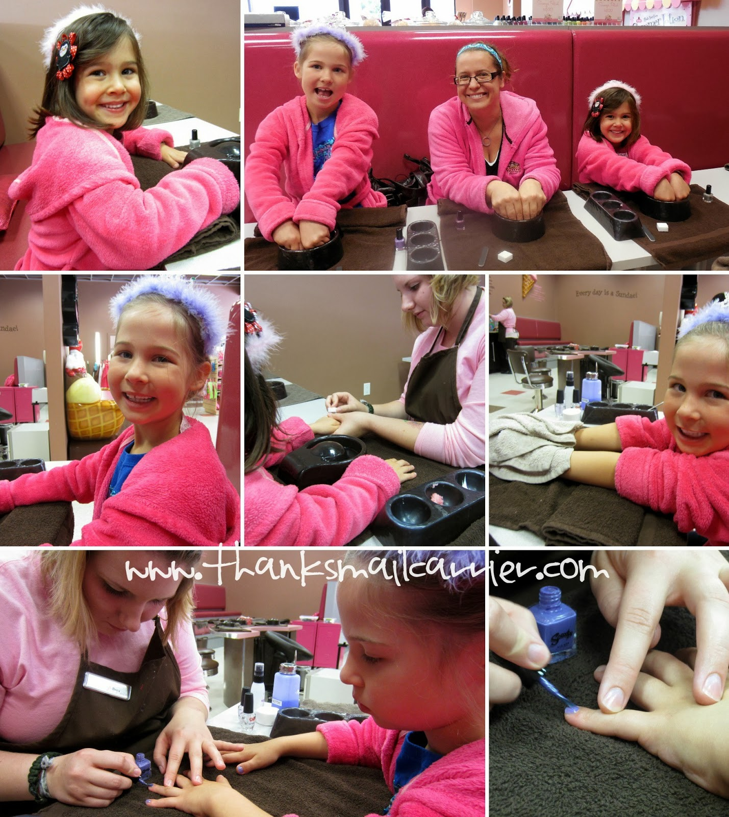 Scooops Spa Salon manicure