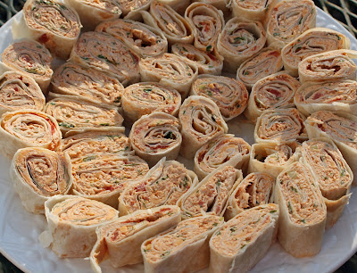 Food and Garden Dailies: Spicy Chicken Tortilla Roll-Ups