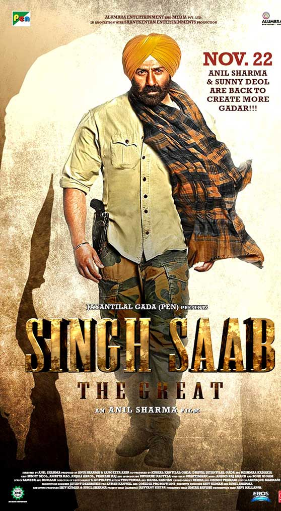 Singh Sahab The Great Poster