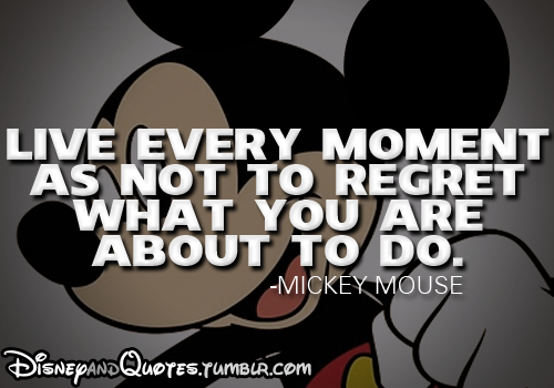 Mickey Mouse Disney Movie Quotes