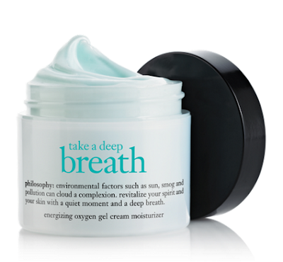 Philosophy, Philosophy skincare, Philosophy skin care, Philosophy moisturizer, Philosophy gel cream moisturizer, Philosophy Take A Deep Breath Energizing Oxygen Gel Cream Moisturizer, moisturizer, skin, skincare, skin care, Philosophy giveaway, giveaway, beauty giveaway, A Month of Beautiful Giveaways