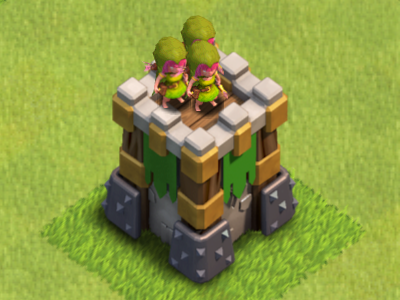 Clash of Clans Archer Tower Level 8